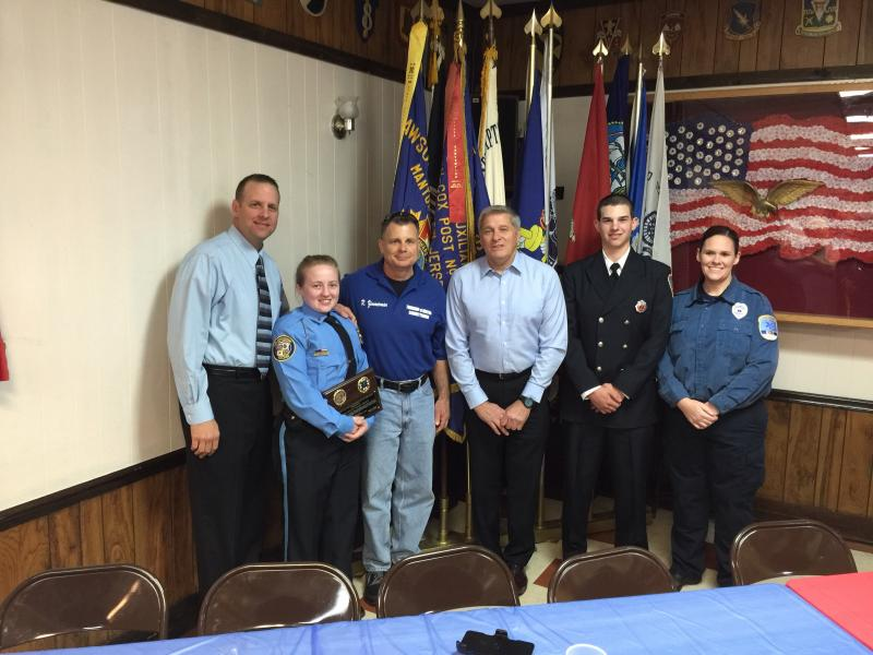 Lt. Torino Awarded Firefighter of the Year