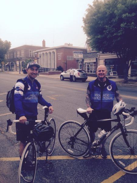 Chief Participates in Police Unity Tour