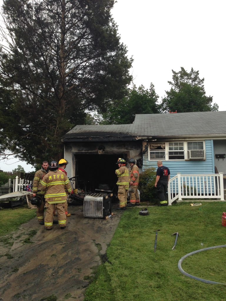 Casual Help Crew makes Quick Work of House Fire