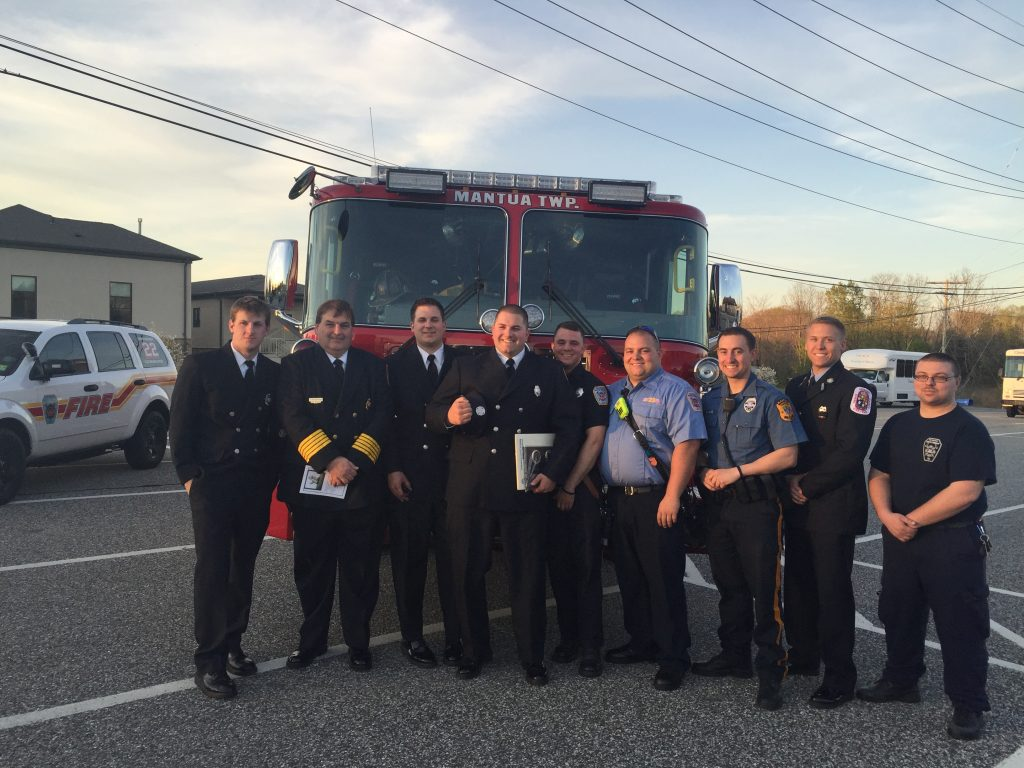 Firefighter Mercer Awarded Firefighter of the Year