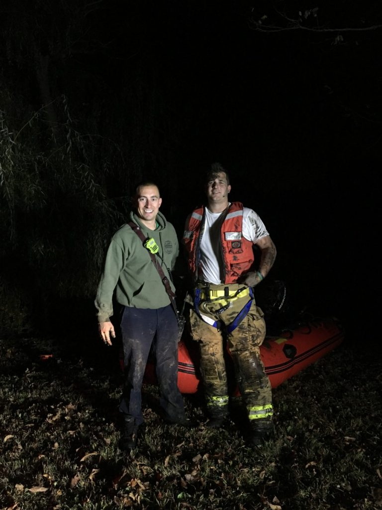 Male Rescued from Mantua Creek