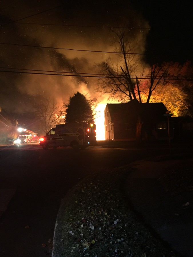 Station Assists on Woodbury 3 Alarm Fire