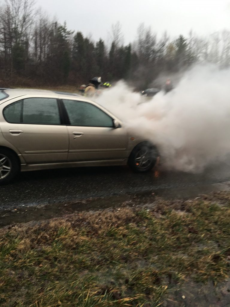 Route 55 Vehicle Fire