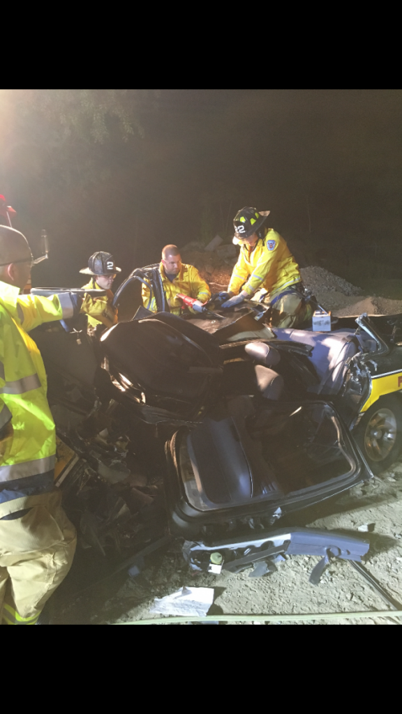 Company Performs Extrication Training