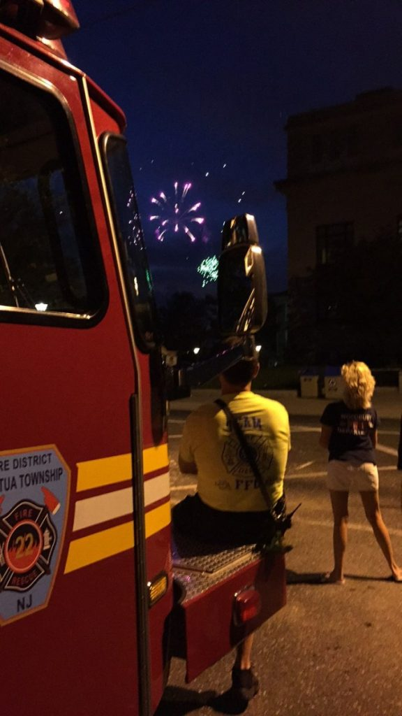 Company Covers Woodbury During Fireworks