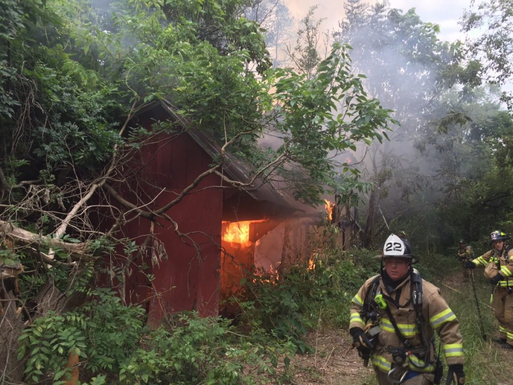 Arson Fire at Vacant Structure