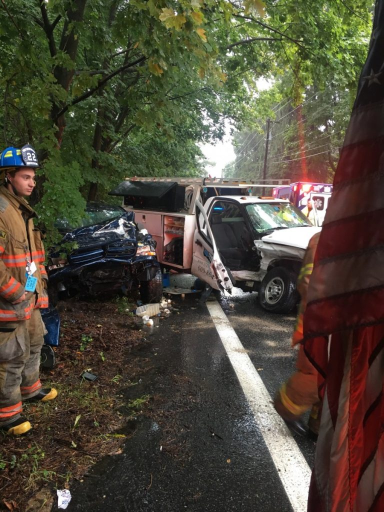 Crews Extricate Two from Serious MVC