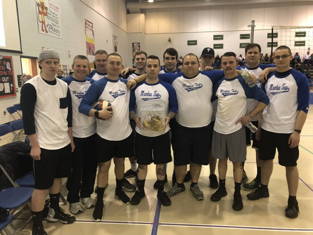 Department Participates in Charity Volleyball Tournament
