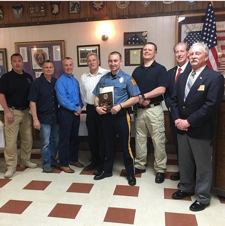 Captain Joseph Hauss Awarded Firefighter of the Year