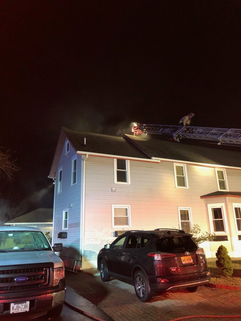 Crews Battle Chimney Fire